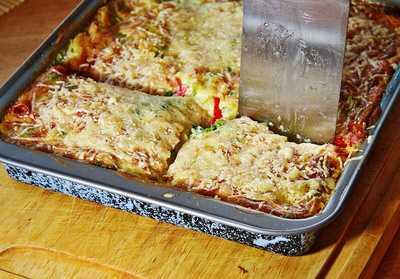 vegetarische tofu gem se lasagne. Black Bedroom Furniture Sets. Home Design Ideas